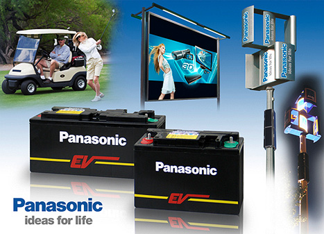 Panasonic Hochleistungs-Blei-Batterien