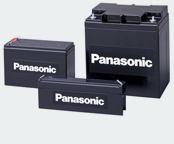 Panasonic Blei Batterien