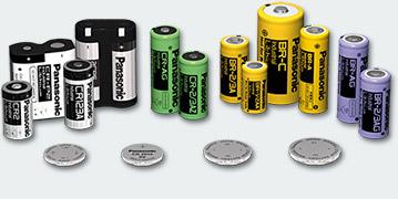 Panasonic Lithium Batterien