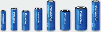 Panasonic Nickel Metall Hydrid Hochtemperatur Batterien